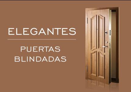 Elegantes puertas blindadas