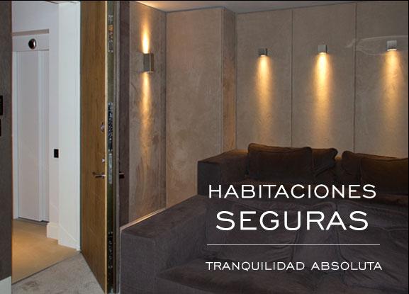 Habitaciones seguras: tranquilidad absoluta