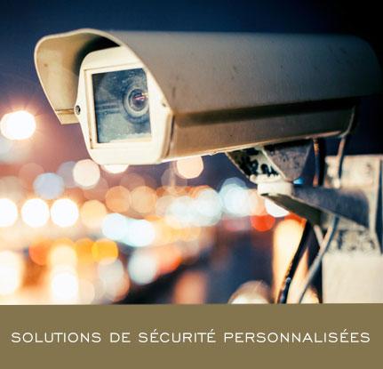 Solutions de sécurité personnalisées