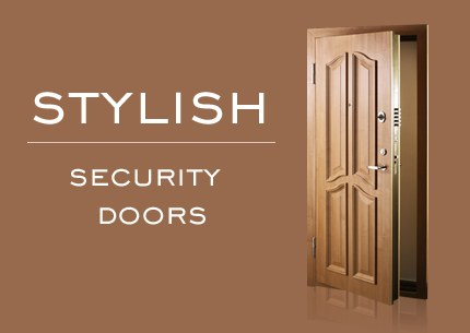 Stylish Security Doors