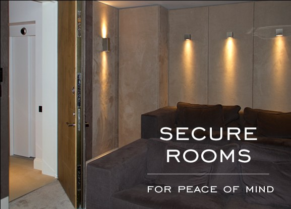 Secure Rooms for peace of mind