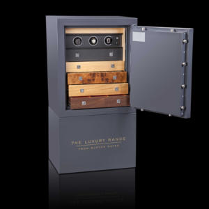 Eurovault Lx Deluxe Safe - Grey